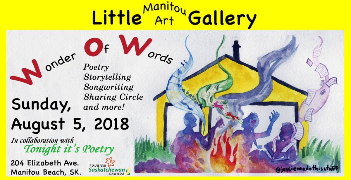 WOW Wonder of Words Event at Little Manitou Art Gallery 2018